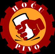Hoću pivo logo