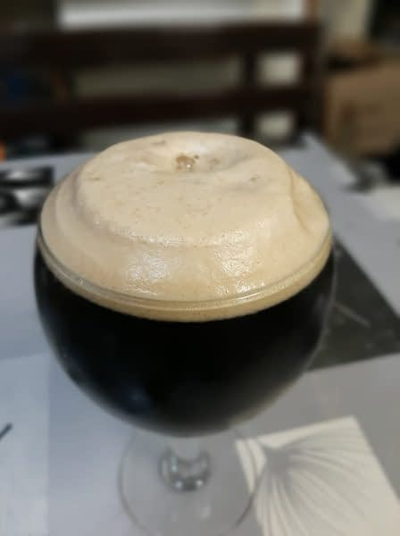 Chocolate stout pivo prva verzija