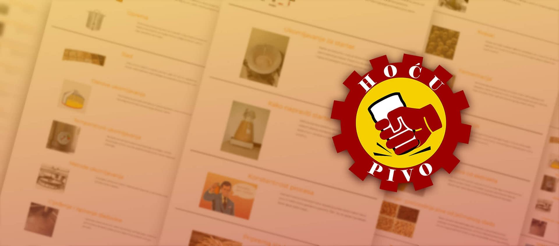 Kako je nastala online škola piva Hoću Pivo